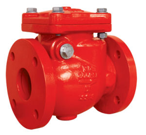 UL/FM 300psi Flanged End Swing Check Valve Xqh-300