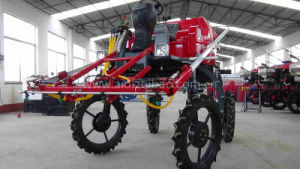 Aidi Brand 4WD Hst Back Pack Sprayer for Dry and Water Farmland