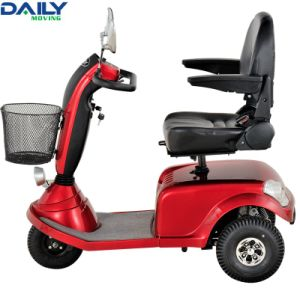 Ce Middle Size 3 Wheels Mobility Scooter for Handicapped pictures & photos