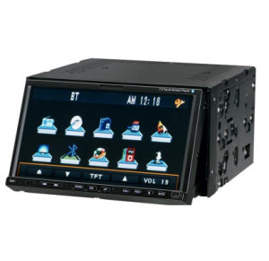 Double-Din 7′′ Car DVD Player With With All-In-One Function (GP-7002)