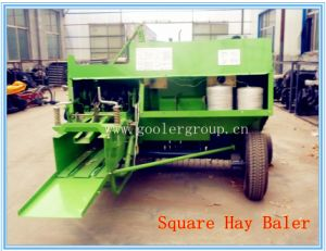 Square Hay Bale Bundling Machine, Big Square Baler pictures & photos
