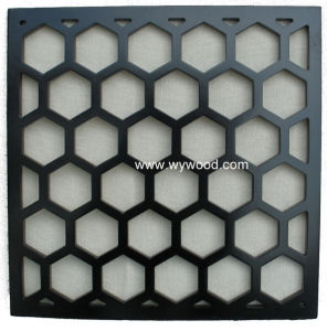 Carved Grille MDF Wooden Decorative Panel (WY-75) pictures & photos