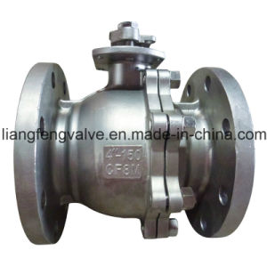 Stainless Steel Ball Valve with Flange End