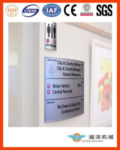 Double Sides Pylon-Way Finding Panel with Top Quality pictures & photos