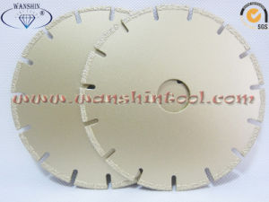 Stainless Steel Cutting Saw Blade Vacuum Brazed Diamond Saw Blade pictures & photos