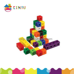 Plastic Snap Linking Cubes Toy for Kids (K002) pictures & photos