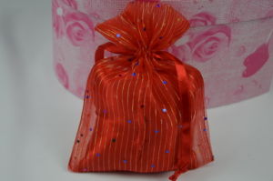 Custom Organza Drawstring Gift Promotion Bag