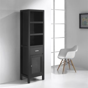 Bathroom Floor Stand Tall Towel Cabinet