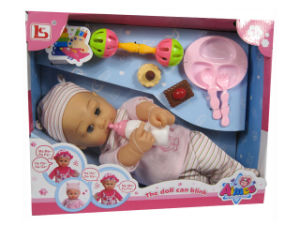 16 Inch Baby Doll Toy with Sound (H3535006) pictures & photos