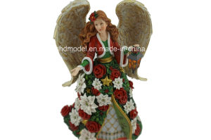 Resin Angle Girl with Wing (OEM) pictures & photos