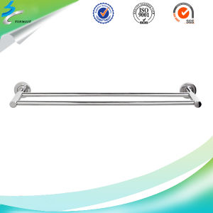Polishing Hardware Stainless Steel Bathroom Towel Rack pictures & photos
