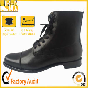 High Quality Black Military Office Boot pictures & photos