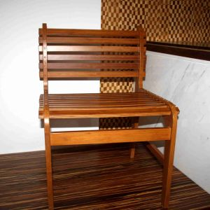 New Design Bamboo Chair with Bamboo Batten pictures & photos