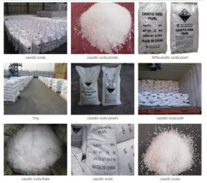 Sodium Hydroxide Caustic Soda Flakes/ Pearl / Solid (ZL-CS) pictures & photos
