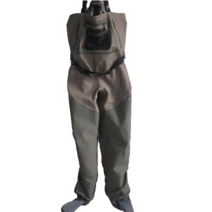 Neoprene Fishing Tackle Wader with Boots (HX-FW0014) pictures & photos