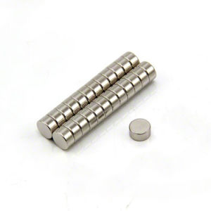 High Performance Sintered Round Permanent NdFeB Magnets