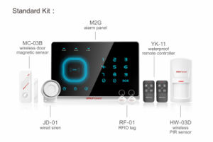 Wireless GSM Home Alarm System Kit, Intrusion Alarm, Burglar Alarm System Yl-007m2g pictures & photos