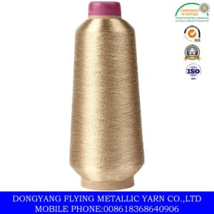 Pure Gold Metallic Yarn for Morocco Market