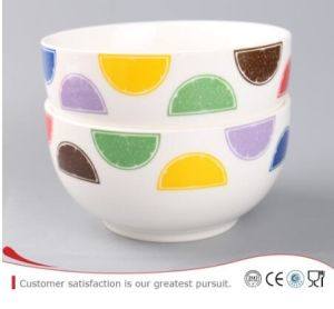 New Bone China Material of Soup Bowl