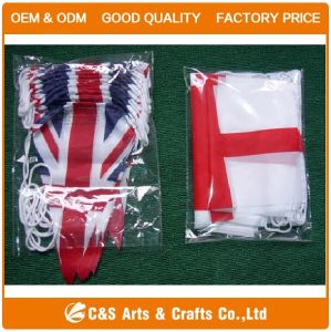 Outdoor Advertising Polyester Bunting String Flag pictures & photos