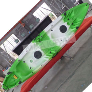 Cheap Plastic Kayak for Three Person/Boat Wholesale (M06) pictures & photos