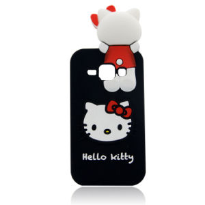 Kitty Cat Silicon Phone Case for J5 J7 P8 P9lite Mobile Phone Cover (XSK-011)
