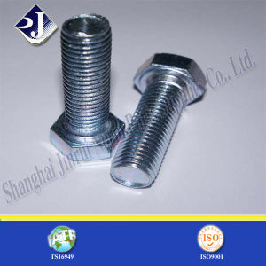 Good Quality Zinc Plated Hexagonal Bolt pictures & photos