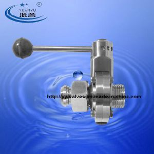 3A Butterfly Valve with Male/Female Connection pictures & photos