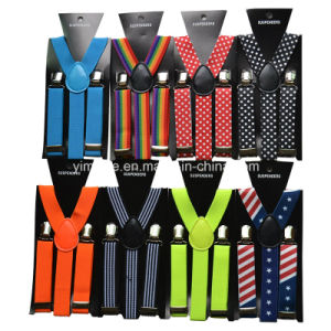 Hot Selling New Designs Y Shape Elastic Braces Kids Suspender in Stock pictures & photos