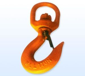 U. S. Type Swivel Hoist Hook with Latch pictures & photos
