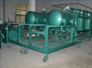 Waste Lubricant Oil Purification Plant Used Engine Oil Recycling Decoloring Machine Lye pictures & photos