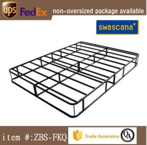 Zbs Cheap Metal Bed Frame Adult Twin Full Queen King American Style Beds
