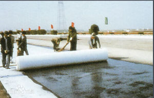 Non-Woven Geotextile for Road Construction pictures & photos
