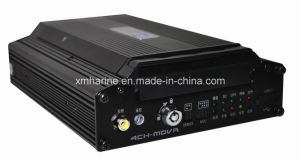 Support 320g 4CH HDD Mobile Car DVR