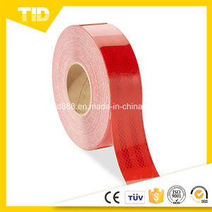 Red High Intensity Reflective Warning Tape for Safety pictures & photos