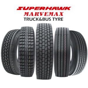 Superhawk Tire - 40 Years Tire Factory, High Quality Radial Truck Tires (11r22.5 295/75R22.5) pictures & photos