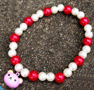 Fashion Pet Product White Bead Pet Jewelry