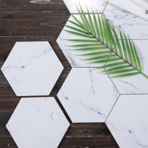 Marble Stone Hexagon Floor Tile