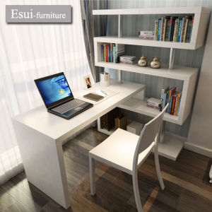 China Modern Design Study Room Furniture Writing Table with Storage