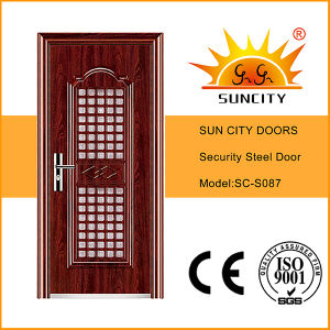 High Quality Used Exterior Steel Doors for Sale (SC-S087) pictures & photos