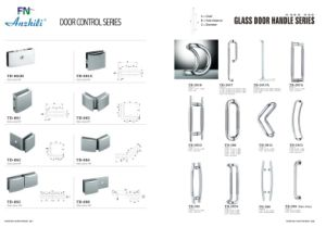Connector Swing Door Series /Glass Stainless Steel Hinge Td-8300e-1 pictures & photos