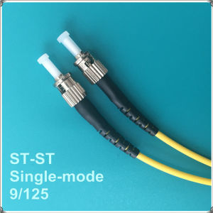 St-St PC Single-Mode Fiber Optic Patch Cord pictures & photos