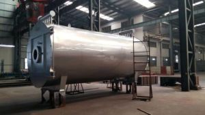 10t/Hr Wns Series Oil (Gas) -Fuel Steam Boiler pictures & photos