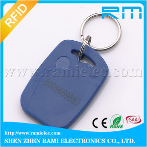 ABS Lf Smart 125kHz T5577 RFID Keychain for Access Control
