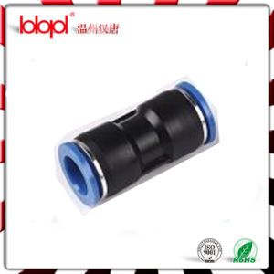 Plastic Air Hose High Pressure Pipe Fitting, Union Type Straight Connector pictures & photos