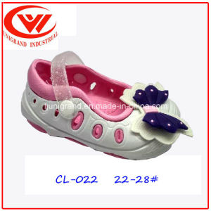 Children Cute Butterfly Printing EVA Clogs for Girls pictures & photos
