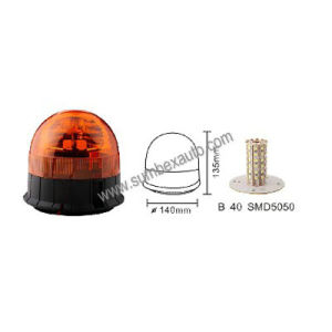 ECE R10 R65 Magnetic Amber LED Warning Beacon Strobe Light (SM808HB)