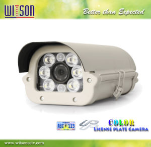 CCTV 1080P HD Color Number Plate IP Camera with Starlight Color View Witson (W3-CNW3121LP) pictures & photos