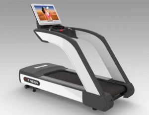 Andriod Commercial Treadmill with WiFi Touch Screen Fitness Equipment