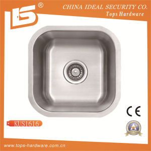 Undermount Stainless Steel Single Bowl Sink of Kus1616 pictures & photos